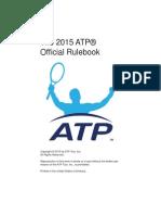 2015 ATP Rulebook 2014