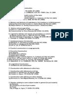 Statcon Jurisprudences