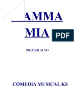 Mamma Mia Libreto 1er Acto