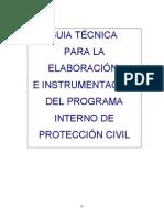 Guia Tecnica para la elaboración e instrumentacion del PIPC