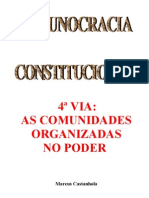 4ª VIA - AS COMUNIDADES ORGANIZADAS NO PODER