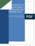 Trabajo Formulación y Evaluación de Proyectos