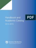 2014 2015 Carey Online Version Course Catalog