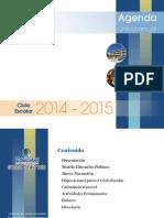 Agenda Única 2014-2015