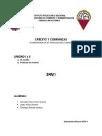 Creditos y Cobranza UNIDAD 1