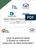 Gestiones Del Estado Protecc Datos
