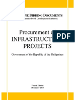 Procurement of Infrastructure Projects