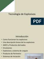 Tecnología de Explosivos
