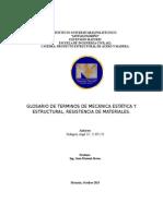 Glosario de terminos importantes para el desarrollo de estructuras de acero.