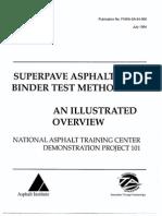 Superpave Asphalt Binder Test Methods