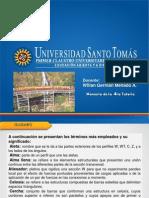 CUARTA  TUTORIA -Metálicas