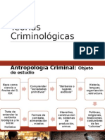 Teorías Criminológicas