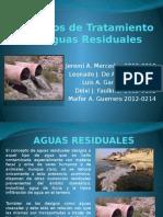 Procesos de Tratamiento de Agua Residual