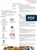 Jumbo Group Limited Factsheet