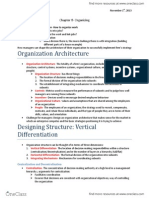 Chapter 8 Organizing