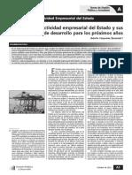 Adolfo CESPEDES - El Estado Empresario y La Subsidiariedad