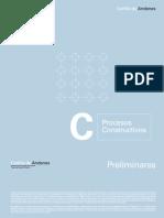 Cartilla del Proceso Constructivo de andenes