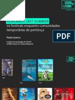GUERRA, Paula (2014) – Remember last Summer