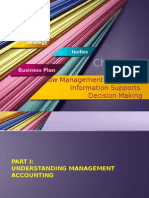 Chapter 1 - How MA Information Supports Decision Making