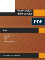 Neurosurgical Emergencies Neuroupdate