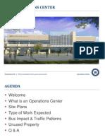Operations Center Presentation