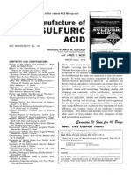 Chemical & Engineering News Volume 37 Issue 43 1959 [Doi 10.1021%2Fcen-V037n043.p081] -- Manufacture of SULFURIC ACID
