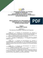 Regulamento Ppgli_nova Proposta