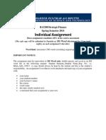 Strategic Finance Assignment