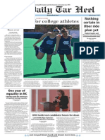 The Daily Tar Heel for Oct. 9, 2015