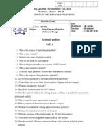 ED7221 FEA  modelexam (PartA).doc