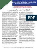 Consumo de Tabaco e Infertilidad