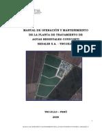 Manual de Operacion Mantenimiento de La Planta Covicorti