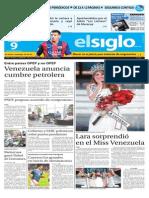 Edicion Impresa El Siglo 09-10-2015