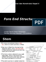 13. Fore End Structure