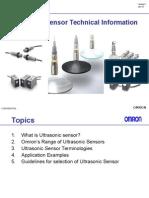 Ultrasonic SensorTraining Material