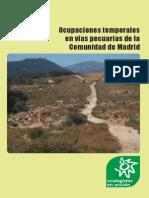 Ocupaciones temporales en vías pecuarias de la Comunidad de Madrid