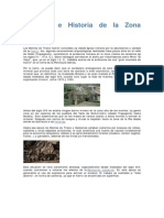 Geología e Historia de La Zona Minera