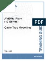 tm-1102 aveva plant  12 series  cable tray modelling rev 1 0
