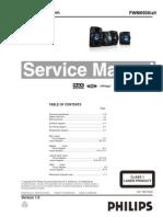 Diagrama Philips FWM6500