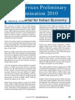 Civil Services - Indian Economy