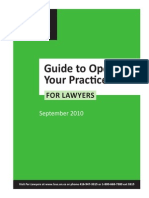 The Law Society of Upper Canada, Guide to Opening Your Practice for Lawyers.pdf