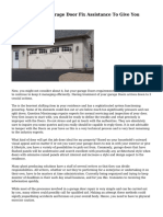 Hire A Credible Garage Door Fix Assistance To Give You Peace Of Intellect