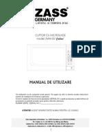 ZMW03 Manual Utilizare
