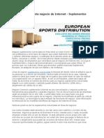 Increíble Propuesta Negocio de Internet - Suplementos Comerciales