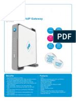 Pace 921VNX Wireless DSL VoIP Gateway