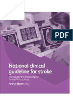 National Clinical Guidelines for Stroke Fourth Edition 2012