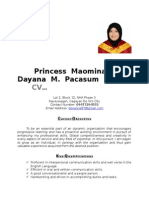 Princess Day an a Resume 2015