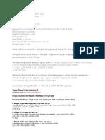 Different Formula of Textile Calculation - Textile Learner