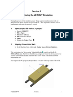 Vericut - Session 2 Monitoring Simulation