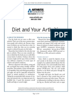 (Nutrition) Diet and Your Arthritis